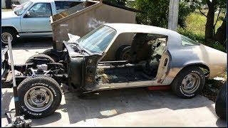 My 1979 Camaro Z28 Restoration Project