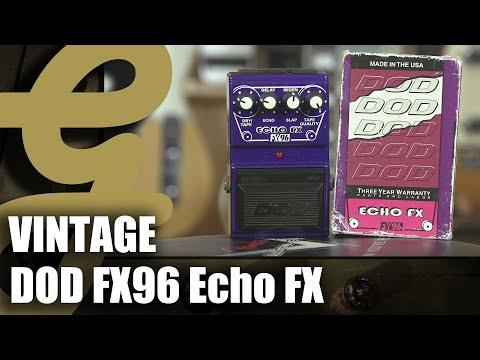 Vintage DOD Echo FX FX96