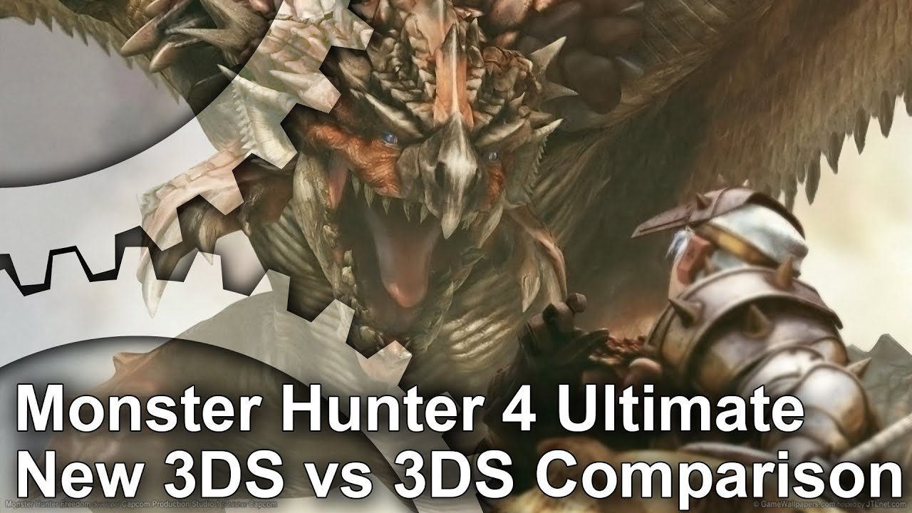 Monster Hunter 4 Ultimate New 3ds 3ds Frame Rate Test Analysis