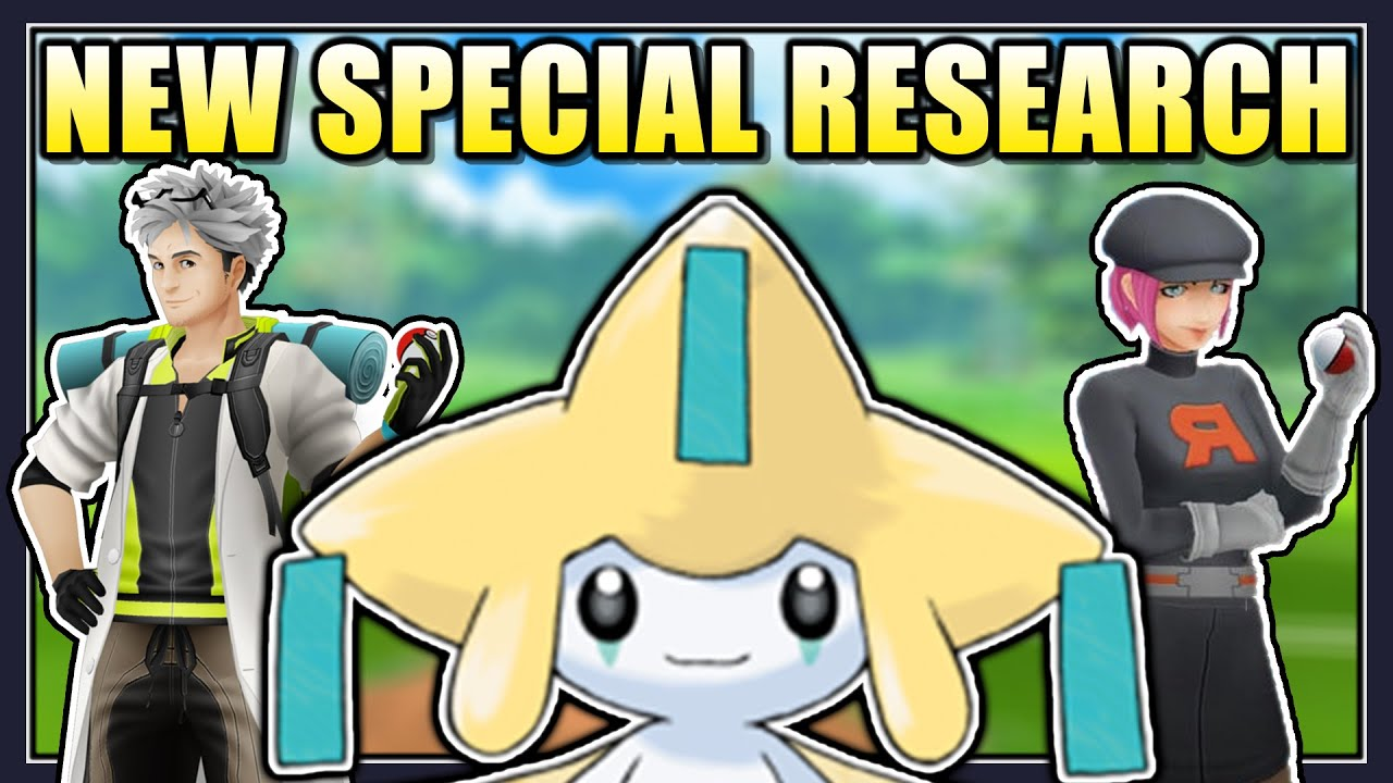 Pokmon Go Jirachi quest steps - every step in A Thousand-Year Slumber