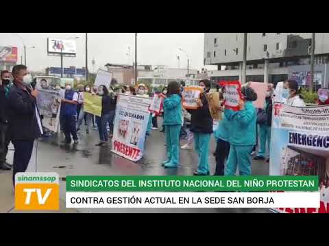 Dan el ejemplo: sindicatos del Instituto Nacional del Niño exigen mejoras salariales