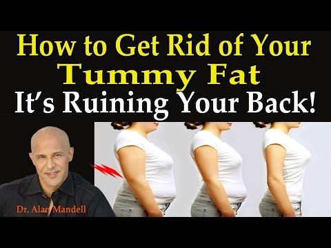 How to Get Rid of Your Tummy Fat...It's Ruining Your Back!  -   Dr Mandell