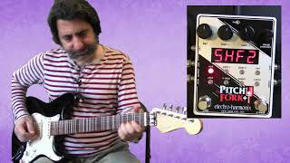 Electro-Harmonix Pitch Fork®+(PitchFork Plus) Polyphonic Pitch Shifter-Stereo Demo with J.I. Guitar