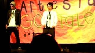 Artesia high talent show 2010 : Derek Kim & Jacek Brown