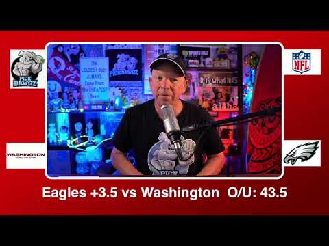 Philadelphia Eagles vs Washington Football Team 1/3/21 NFL Pick and Prediction Sunday Week 17 NFL