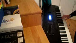 Day Seventeen: Accident by Ayreon - Keyboard solo by Mattone on Kurzweil K2500X