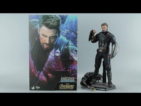 HOT TOYS 《复仇者联盟3》美国队长【涛哥测评】MMS481 HT Avenger 3 Infinity War Captain America