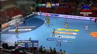 Brazil x Russia - Handball World Championship 2013 - Full Match