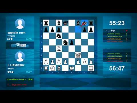 Chess Game Analysis: ILHAMI1987 - captain rock : 1-0 (By ChessFriends.com)
