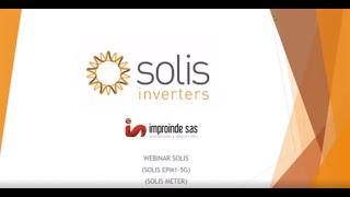 Inversores SOLIS jornada 3 - Inyeccion Cero a la Red