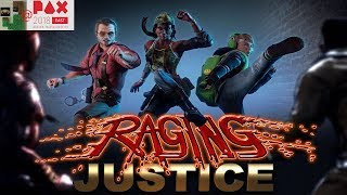 Raging Justice Interview @ Pax East 2018