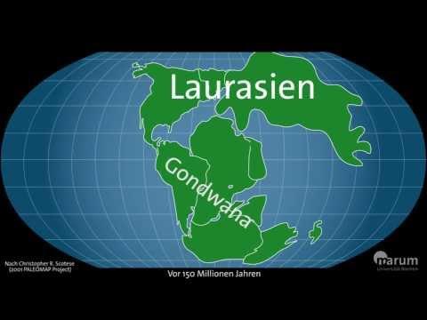 Wandernde Kontinente - Plattentektonik im Zeitraffer