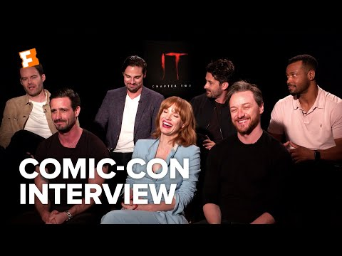 Play The Cast of IT Chapter Two Bonded Over Karaoke | Comic-Con Interview | Fandango