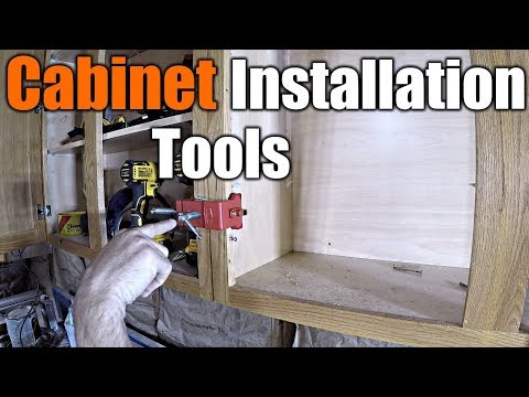 Must Have Tools To Install Cabinets | THE HANDYMAN |