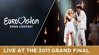 Ell & Nikki - Running Scared (Azerbaijan) Live 2011 Eurovision Song Contest