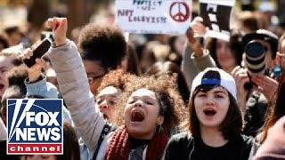 National Student Walkout: Thousands demand action on gun reform