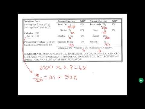 Nutrition Calculation