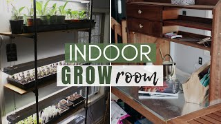FULL Grow Room TOUR | What is Growing in the Indoor Grow Room?!
