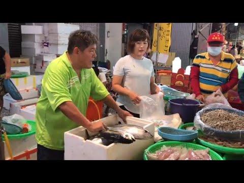 Taiwan Seafood Auction - Sea Bass / Yellowfin Tuna