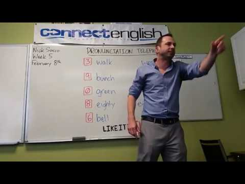 Connect English Pronunciation Telephone, Volume 8 - Mission Valley Campus