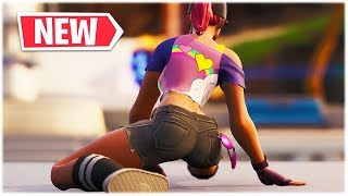 "*SPREAD YOUR LEGS LIKE VAN DAMME* NEW ""WORK IT"" DANCE EMOTE SHOWCASED /w THICC SKINS 😍❤️ Fortnite"