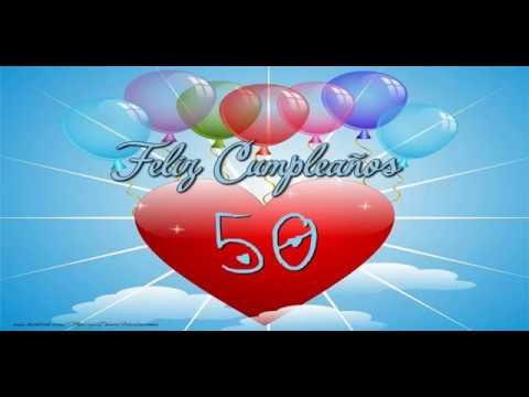 ¡Feliz cumple 50 años!