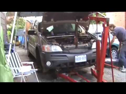 video of montana 3.4 motor change 2011