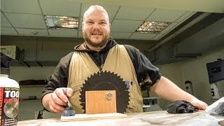 Tablesaw Blade—clean And Inspect