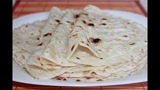 Вкусный Армянский лаваш без дрожжей. Отличный рецепт!
