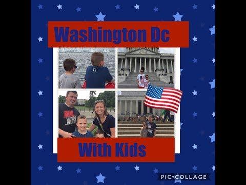 Washington DC Vacation With Kids| Washington DC Vlog| Capitol Tour, Lincoln Memorial & White House