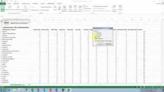Excel Tipps und Tricks #47 In größeren Tabellen die Ansicht Neues Fenster einsetzen