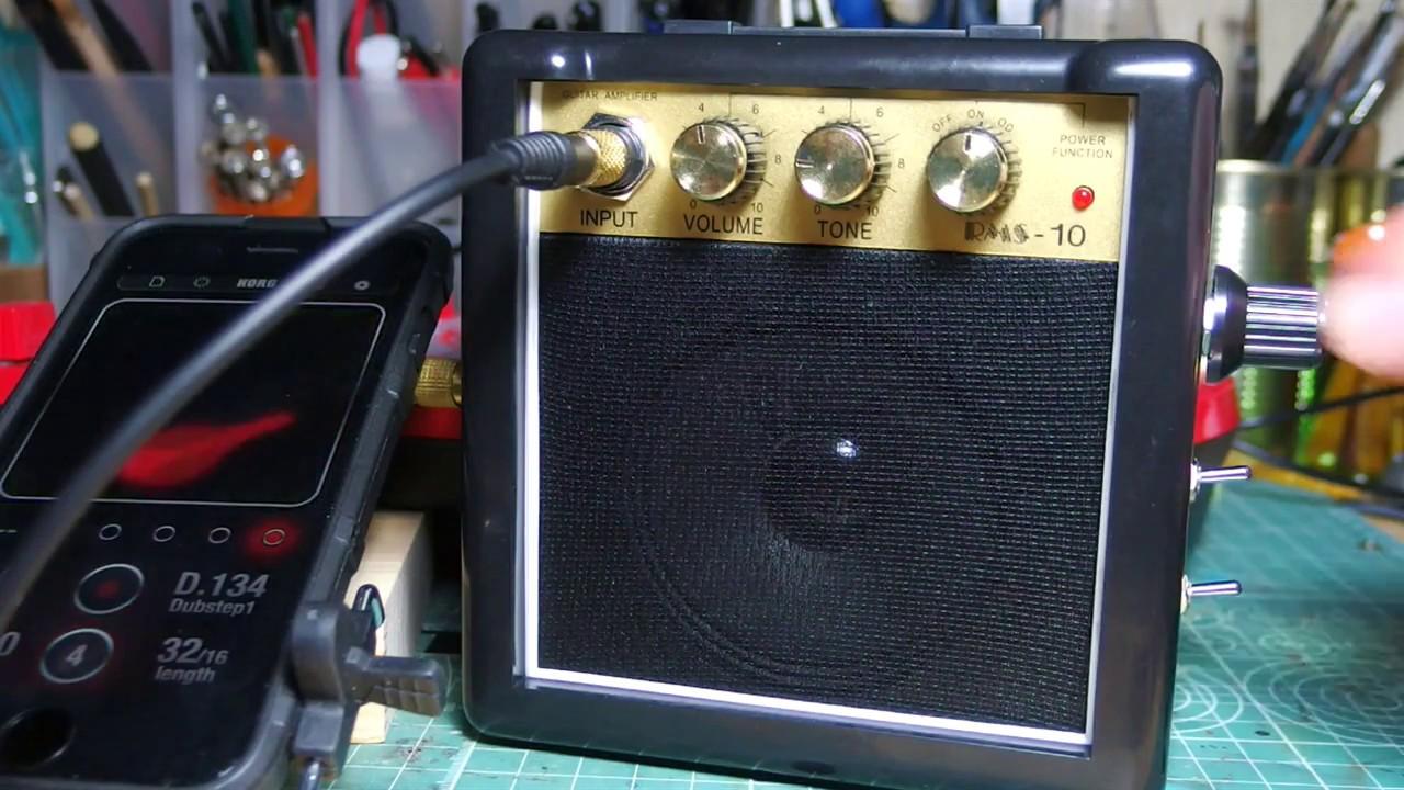 circuit bent rms 10 mini amplifier youtube. Black Bedroom Furniture Sets. Home Design Ideas