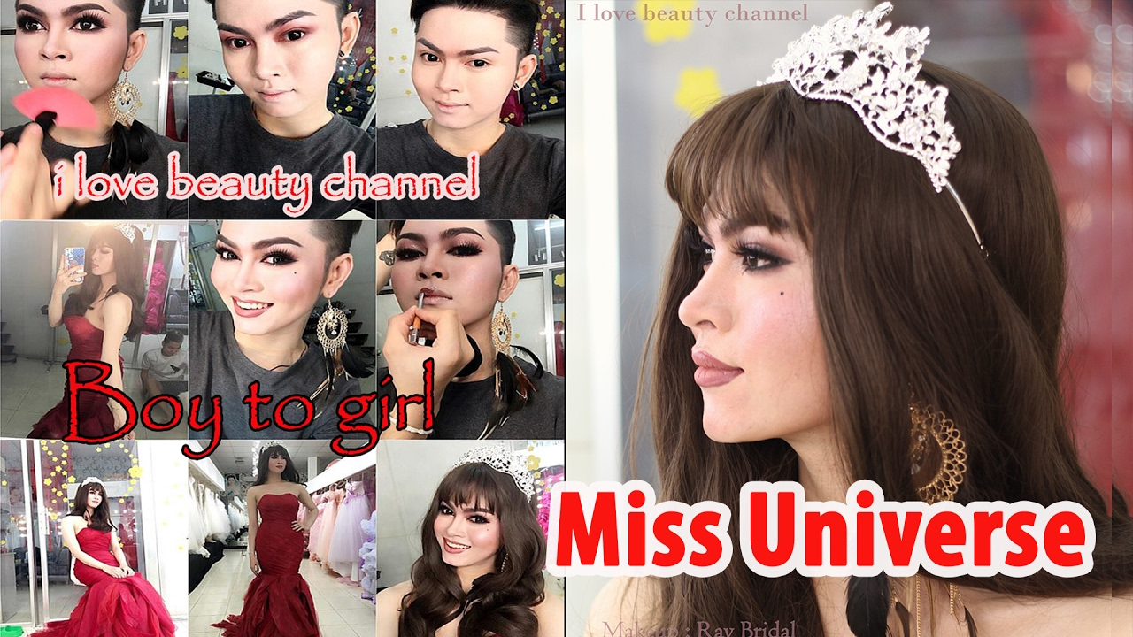 Power Of Makeup Miss Universe Inspired Transformation Man