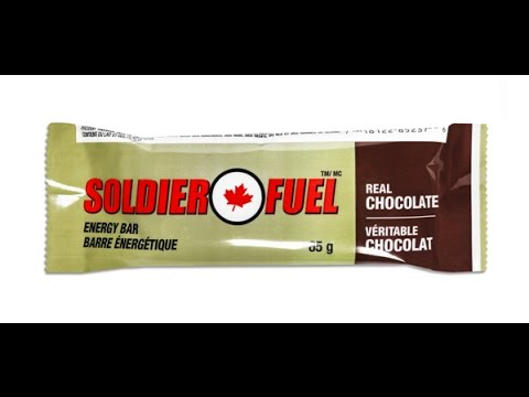 soldier fuel bar an imp individual meal pack component youtube