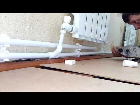 Как сделать двухтрубное отопление своими руками