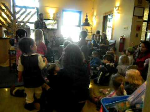 Zimmer Preschool celebrates Hanukkah 2010  a