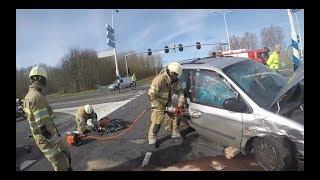 Brandweer Prio 1: Ongeval beknelling
