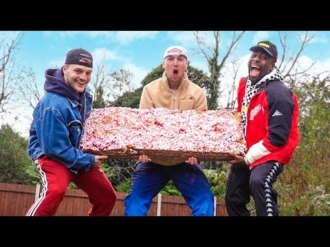 Melting 1000 Chocolate Bars into 1 HUGE Bar (ft. TGFBRO)
