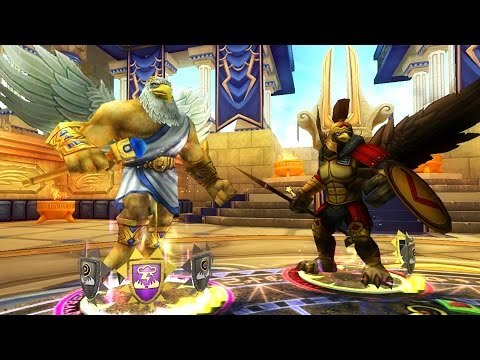 Wizard101: Zeus Exalted Challenge