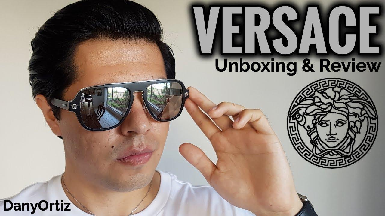 VERSACE || Medusa Charm || VE2199 || Lentes de sol || Unboxing + Review || DanyOrtiz