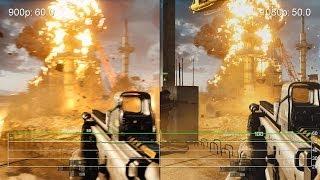 Battlefield 4 High: GTX 750 Ti 900p vs. 1080p Frame-Rate Tests