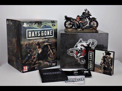 Days Gone Collector's Edition PS4 Обзор Жизнь после Распаковка / Unboxing