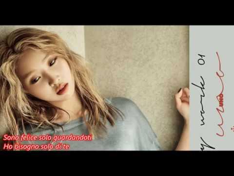 [ Sub Ita ] Minzy ( 공민지 ) Feat Jay Park - Flashlight