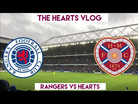 THE RUN IS OVER!!! | Rangers VS Hearts | The Hearts Vlog Season 4 Episode 12