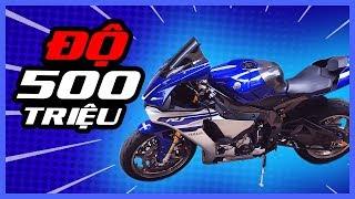 PKL - Yamaha R1 độ 500 triệu vẫn bị gọi là xe zin (Over $20.000 modified items on this Yamaha R1)