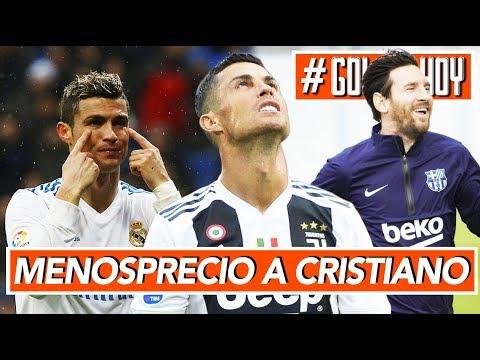 "Menosprecio a CRISTIANO: 'No es indispensable"" I Así evoluciona Messi a su lesión I #goldehoy"