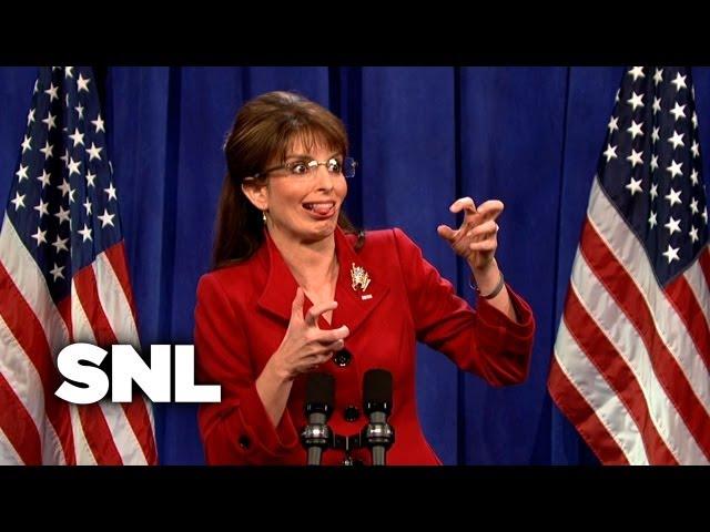 Gov. Sarah Palin\'s Press Conference - SNL