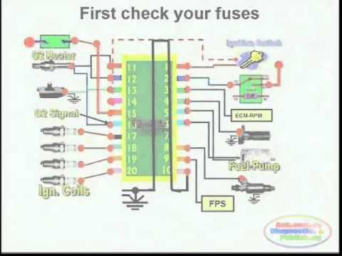 short circuit detection wiring diagram  youtube