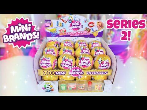 Mini Brands Series 2!!!! We Found A GOLD Super Rare!!!