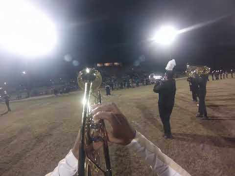Mendenhall High School Marching Band 2018 // Trumpet Cam